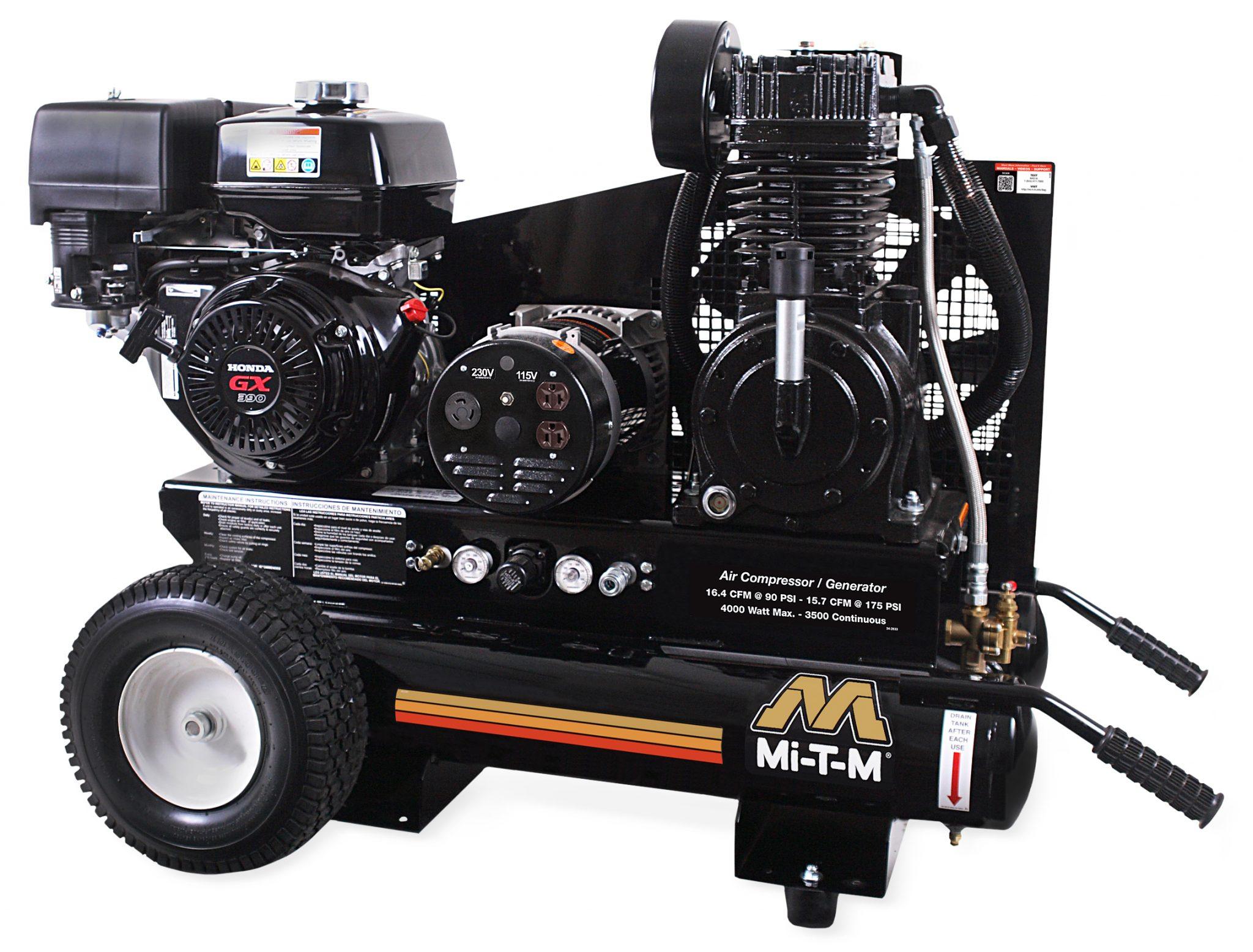 Compresseur-générateur (Essence / 175PSI / 15.7CFM) - MIT-AG2-PH13-08M1 Image
