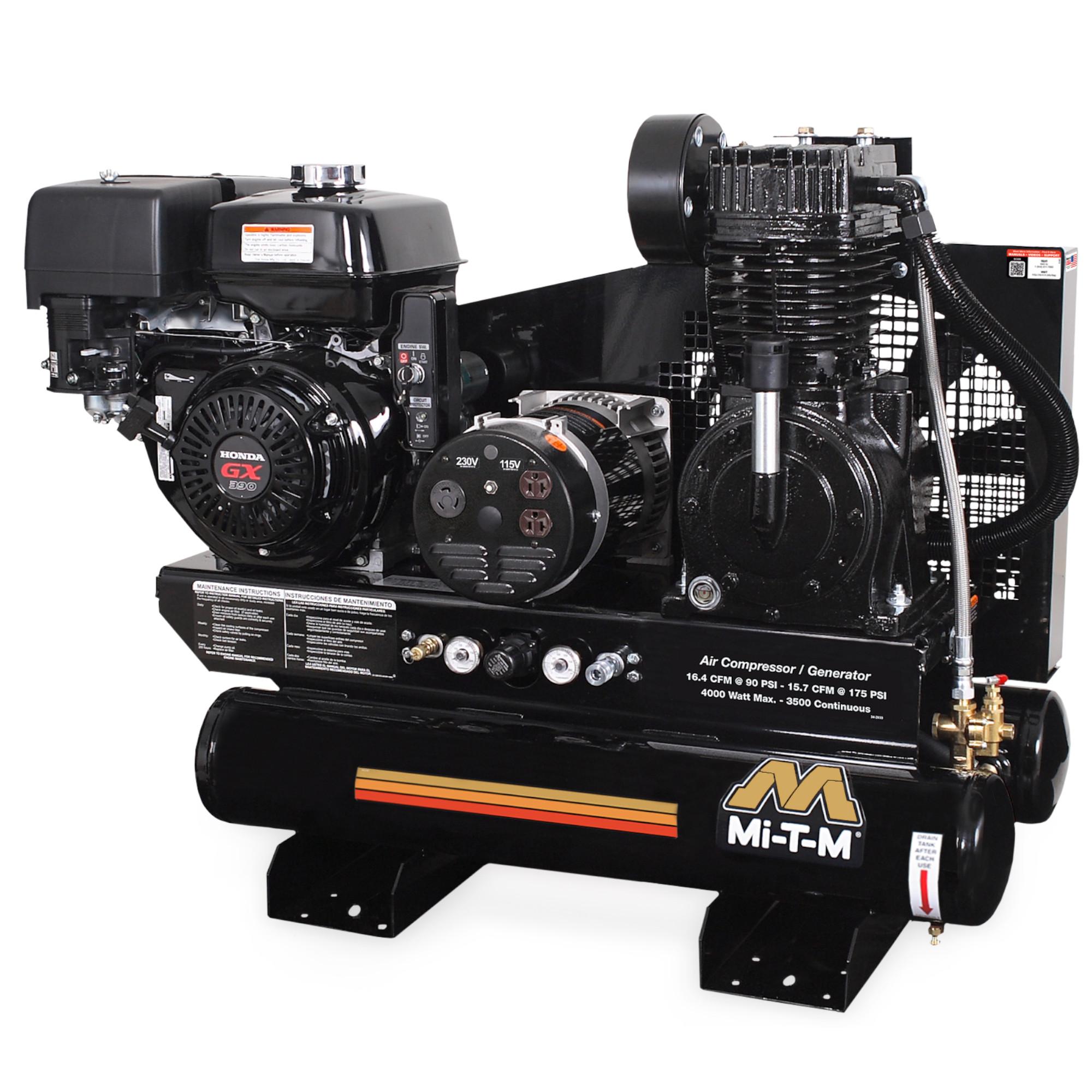 Compresseur-générateur (110V / 175PSI / 15,7CFM) - MIT-AG2-SH13-08M1 Image