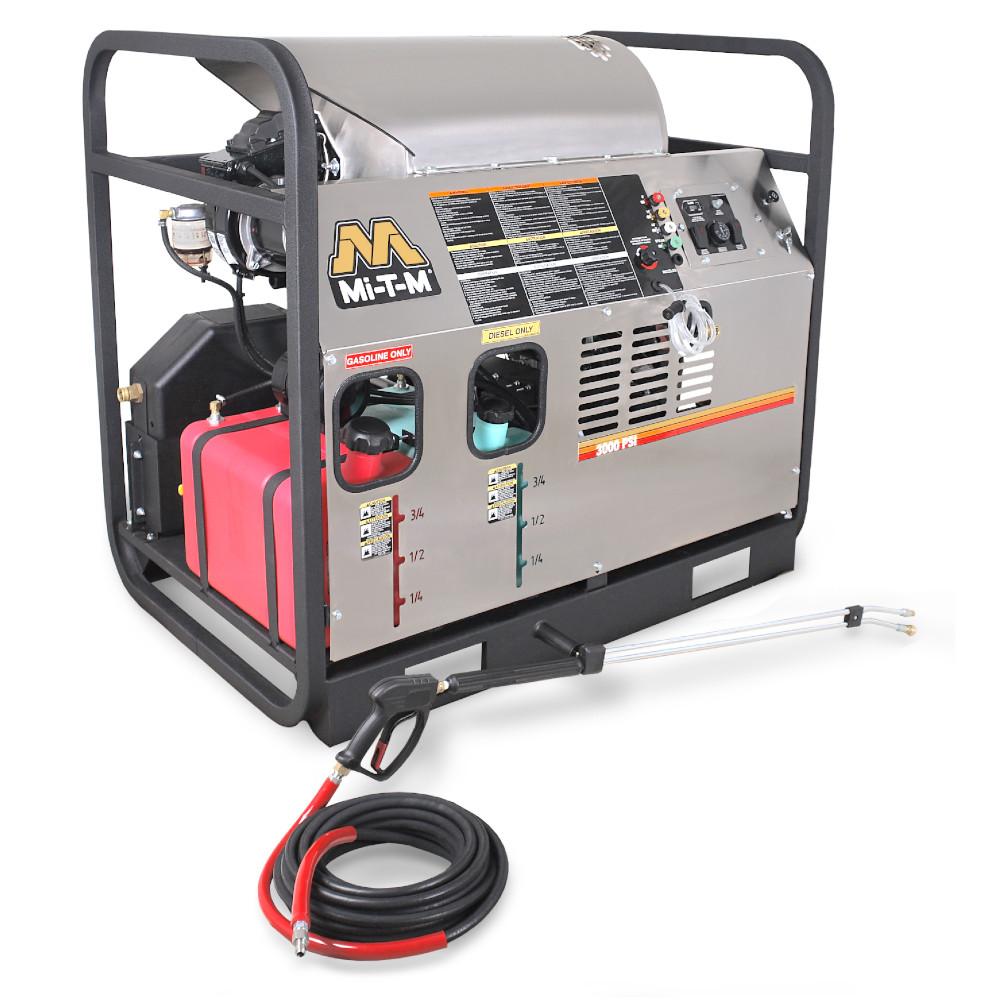 Laveuse à pression (3000PSI, Diesel, 7.8GPM) - HDS-3008-0B7G Image