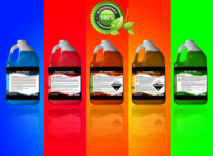 FORMULAIRE pour déterminer quels sont les produits chimiques idéales à acheter