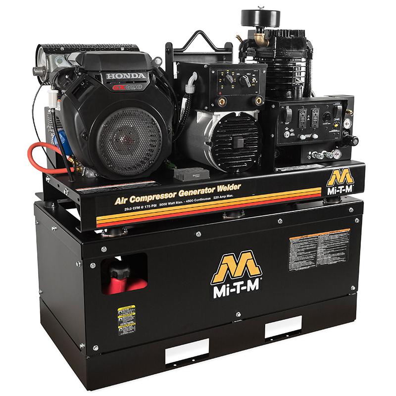 Compresseur-générateur-soudeur (120/240V / 175PSI / 29CFM) - MIT-AGW-SH22-20M Image