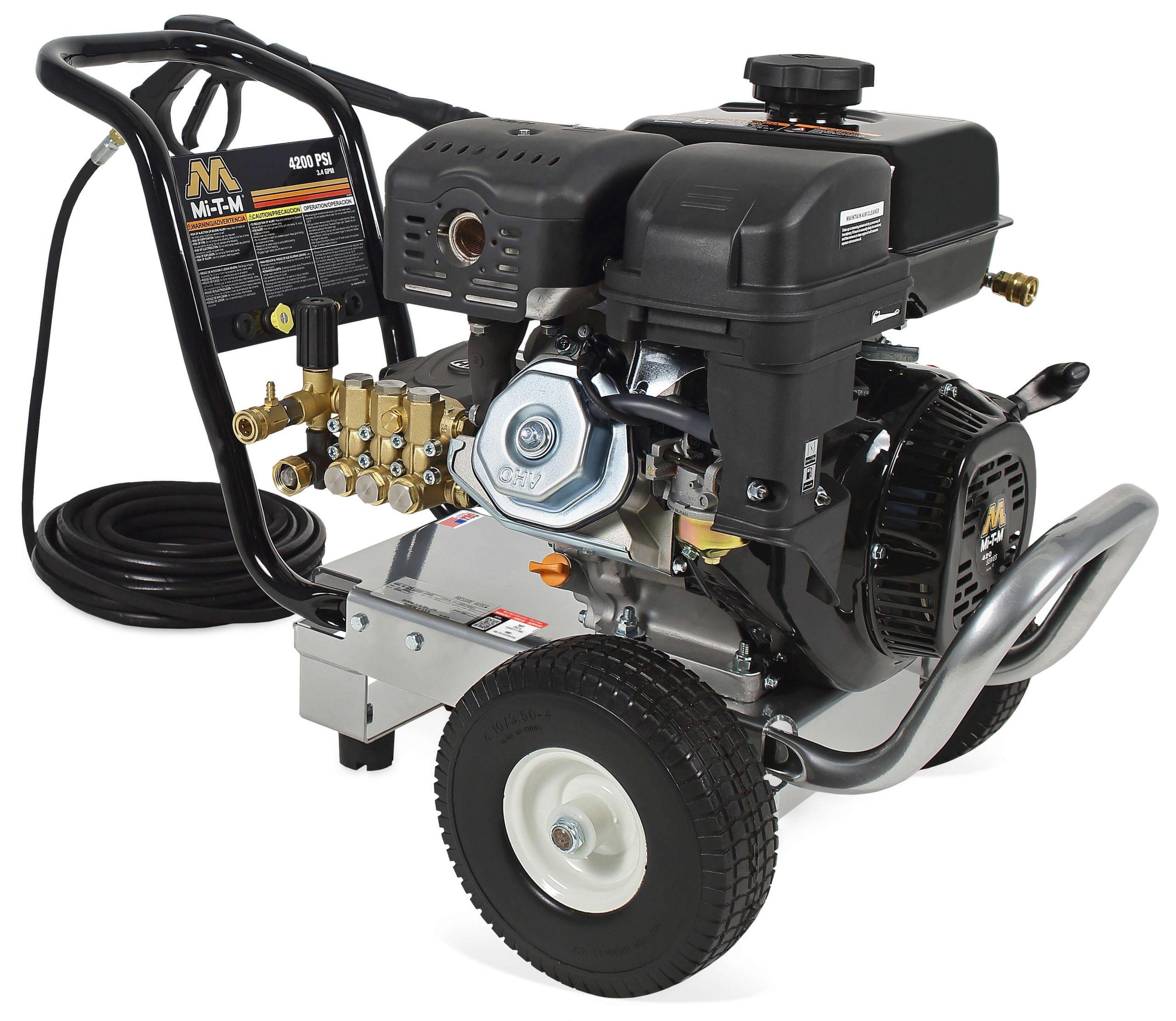 Laveuse à pression (4200PSI, Essence 3.4GPM) - CM-4200-0MMB Image